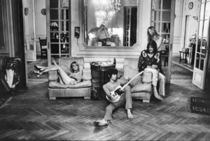 Anita Pallenberg, Keith Richards, Gram and Gretchen Parsons