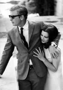 Michael Caine & Giovanna Ralli