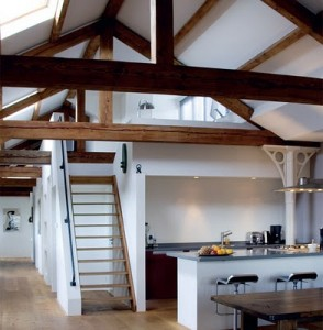 loft over kitchen