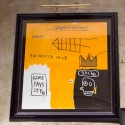 basquiat at the lion!