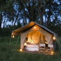 Ensuite Safari Tent in the Chobe National Park
