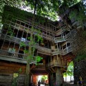 Ministers Treehouse Panorama
