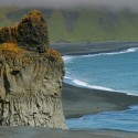 Black sand beach at Vik