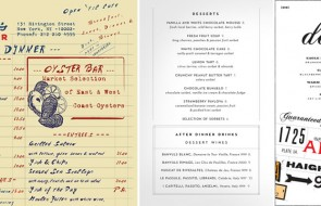menus