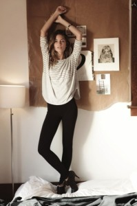 stripes jeans
